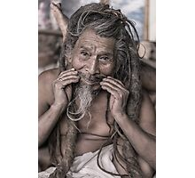 Sadhu - holy man Photographic Print