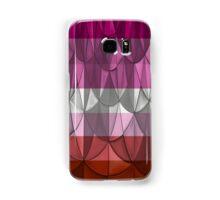 Geometric Lipstick Lesbian Pride Samsung Galaxy Case/Skin