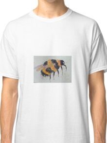 Orange and yellow bumble bee Classic T-Shirt