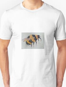 Orange and yellow bumble bee Unisex T-Shirt