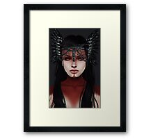 warrior.  Framed Print