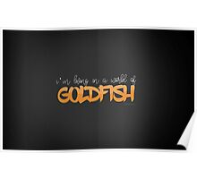 A world of Goldfish Poster