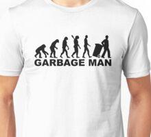 Evolution garbage man Unisex T-Shirt
