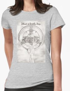 What a Lovely Day Womens Fitted T-Shirt
