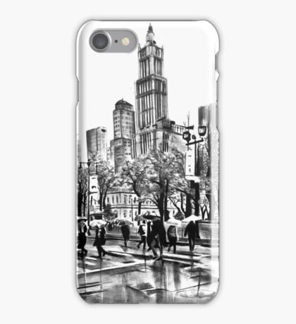 New york streets iPhone Case/Skin