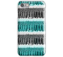 People, colors and stripes iPhone Case/Skin