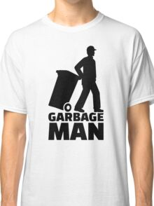 Garbage man Classic T-Shirt