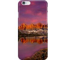 Dachstein on fire iPhone Case/Skin