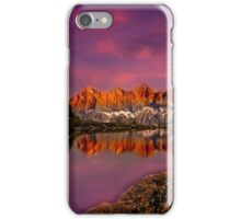 Dachstein on fire iPhone Case/Skin