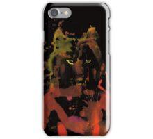 watercolor foxy 2 iPhone Case/Skin