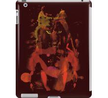 watercolor foxy 2 iPad Case/Skin