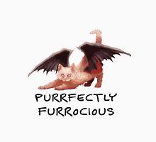 Purrfectly Furrocious Dragon Cat Unisex T-Shirt