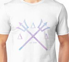 tri delta trident watercolor Unisex T-Shirt