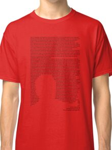 Knowledge  Classic T-Shirt