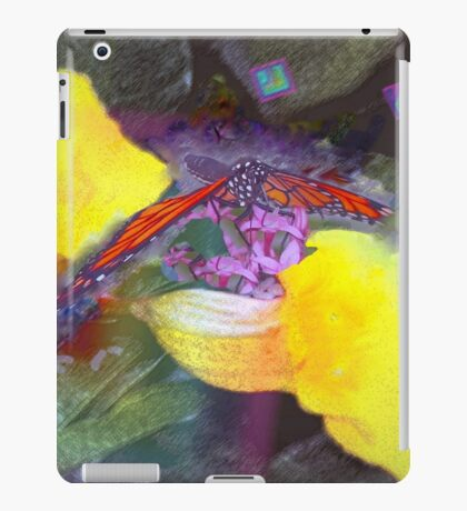 Guess who is coming to dinner? iPad Case/Skin