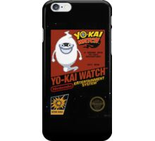 YO-KAI Watch NES Box Art iPhone Case/Skin
