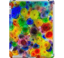 Colored Flowers iPad Case/Skin