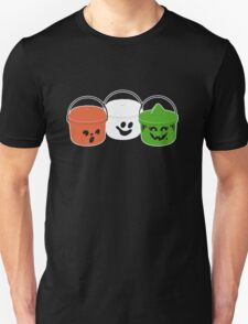 Happy Meal in Black Unisex T-Shirt