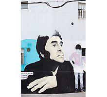 Diego Maradona Graffiti in Buenos Aires, Argentina Photographic Print