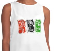 RBG Letters Contrast Tank