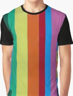 Geometric patterns in multi-colors Graphic T-Shirt