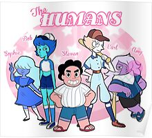 Perfectly Normal Human Baseball Team Poster