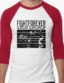 Fight Forever Men's Baseball ¾ T-Shirt