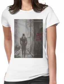 Who Watches The Watchers? Womens Fitted T-Shirt