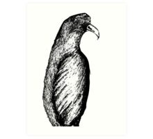 The big bird watches...and waits. Art Print