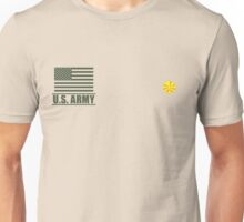 Major Infantry US Army Rank by Mision Militar ™ Unisex T-Shirt