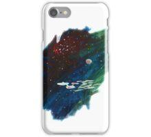 Space painting: USS Enterprise iPhone Case/Skin