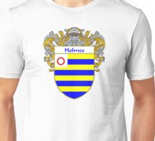 Holmes Coat of Arms/Family Crest Unisex T-Shirt