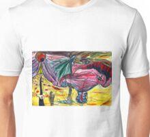 melting illusions painting Unisex T-Shirt