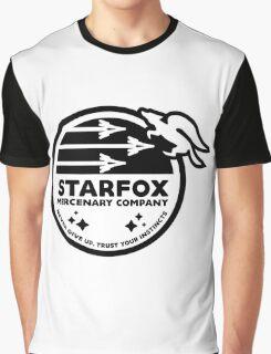 Star Fox Mercenary Patch Graphic T-Shirt