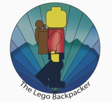 The Lego Backpacker Kids Tee