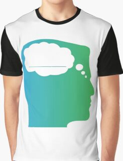 What About Blank Logo w/o Words Graphic T-Shirt