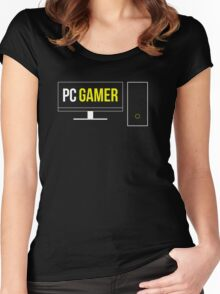 PCMR Gaming Women's Fitted Scoop T-Shirt