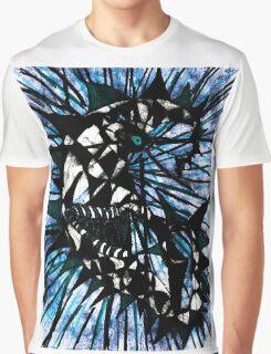 Lunatic Lunacy Blue moon Graphic T-Shirt