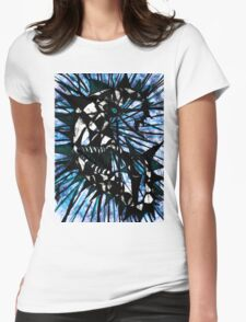 Lunatic Lunacy Blue moon Womens Fitted T-Shirt