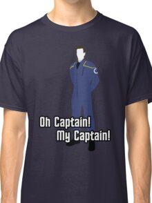Oh Captain! My Captain! - Jonathan Archer - Star Trek Classic T-Shirt