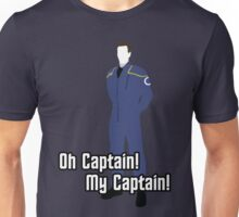 Oh Captain! My Captain! - Jonathan Archer - Star Trek Unisex T-Shirt