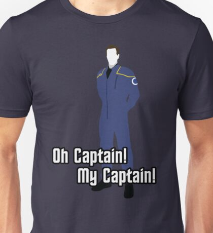 Oh Captain! My Captain! - Jonathan Archer - Star Trek Unisex T-Shirt