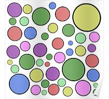 Colorful Dots Poster