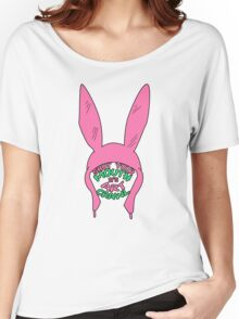 Louise Belcher: Shut Your Mouth it's Art Crawl (version two) Women's Relaxed Fit T-Shirt