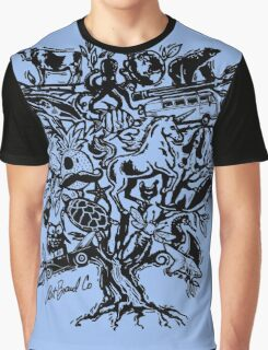 Art Tree Graphic T-Shirt
