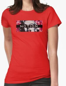 Black Band Notion Womens Fitted T-Shirt