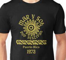 Mar y Sol Pop Festival - Gold Unisex T-Shirt