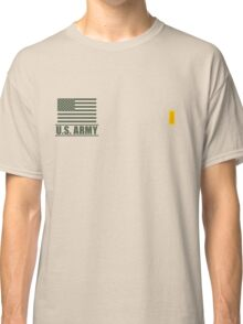 Second Lieutenant Infantry US Army Rank by Mision Militar ™ Classic T-Shirt