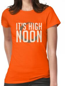 It's High Noon (White/Cream) Womens Fitted T-Shirt