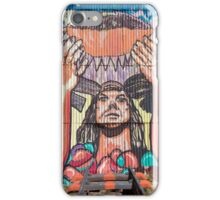 Old train station and Inca graffiti at Puente del Inca, Argentina iPhone Case/Skin